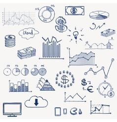 Business finance management infographics social vector
