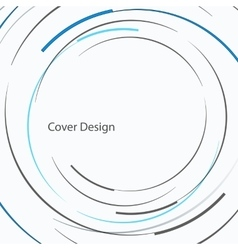 Abstract circle design vector