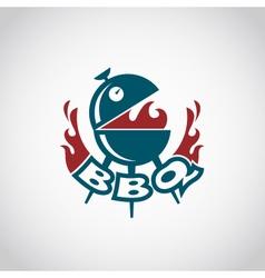 barbecue icon design vector image