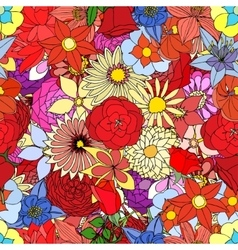 Beautiful summer ornate vector image