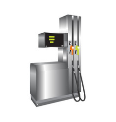 gas station 3d vector image vector image
