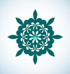 Snowflake element vector