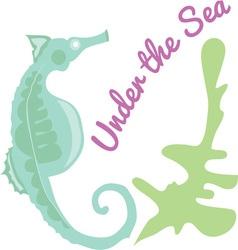 Under The Sea vector image