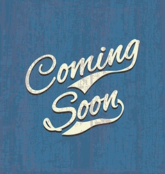 Coming soon sale poster image vector image