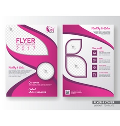 Cover template 049 vector