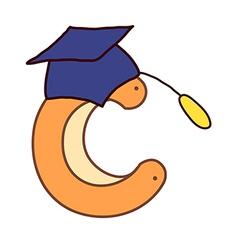 An alphabet vector image vector image
