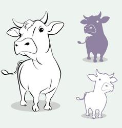 Cow 3 vector