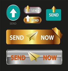 Send now button collection of send now icon vector