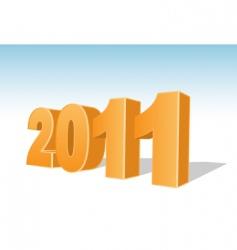 2011 year vector