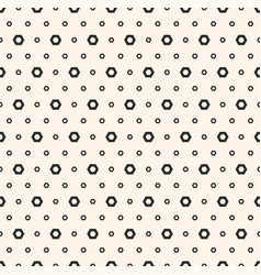 abstract black white geometric seamless texture vector image