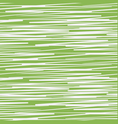 Abstract scratched greenery seamless pattern vector