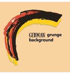Creative background in the german colors german vector