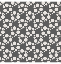 Monochrome geometric seamless pattern with vector