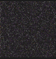 Seamless pattern with program code on grey vector