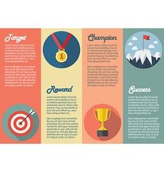 Sport winner icon infographic vector