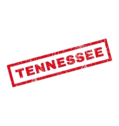 Tennessee rubber stamp vector