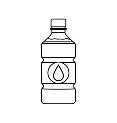 Fresh water drink vector image