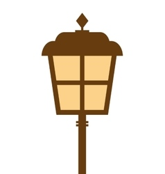 Lamp park light icon vector