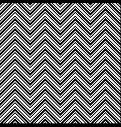 Monochrome chevron pattern black and white vector