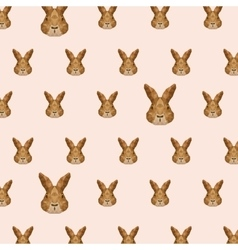 Rabbit low poly vector