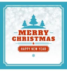 Christmas light background vector image