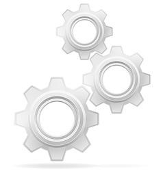 gear 02 vector image