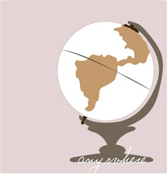 Anywhere globe vector