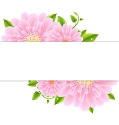 Gerber Banner Background vector image vector image