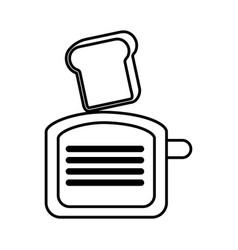 Kitchen utensil isolated icon vector