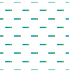 Translator app pattern cartoon style vector image