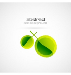 Abstract leaf vector