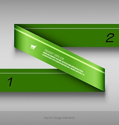 Background options banner design elements vector