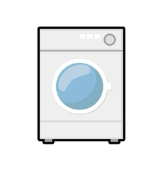 Washer house technology appliance icon vector