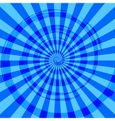 Abstract burst ray background blue vector