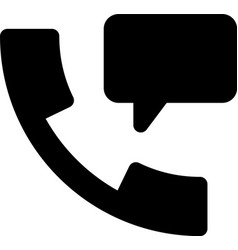 call chat vector image