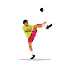 Sepak Takraw Thailand Sport Cartoon vector image
