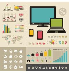 Computer8 vector image
