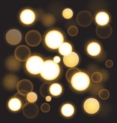 Shining light vector image