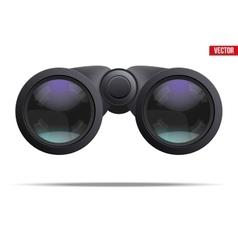 Optical binoculars vector image vector image
