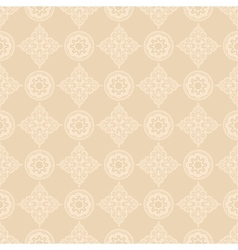 Oriental floral pattern vector