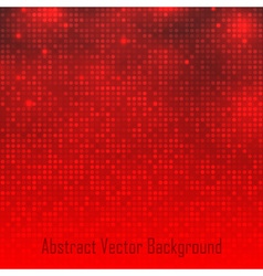 Abstract red technology glow background vector