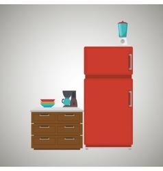 Kitchen equipment design vector