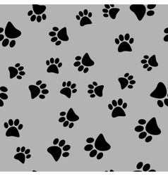 A seamless pattern of black vector