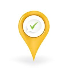 Correct location vector