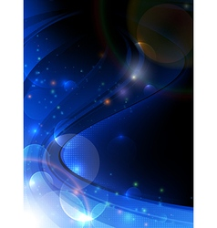 Magic composition vector image