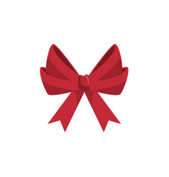 tape bow knot vector image