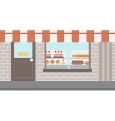 Background of bakery vector
