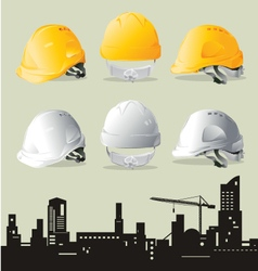 Contruction hat vector