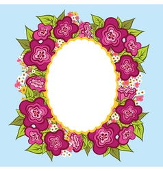 Greeting card invitation banner Frame for your vector image