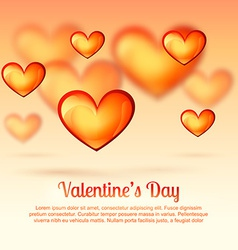 Valentine day greeting vector